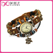 2015 charm leather,smart watch,fashion lady watch