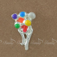F253 Hot Selling Balloon Floating Charms Customized Floating Locket Charms