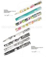 Promotional plastic fountain pen