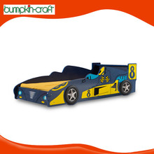 Factory price modern racing handmade race car bed