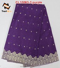 new fashion Swiss voile lace in Switzerland CL10063 purple