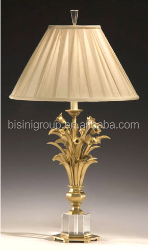 BF11 01291e Bronze Crystal Table Lamp 7082