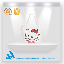 Latest Hot Sale Lady Hand bag Wholesale Canvas Printed bags Unique Style Handbag