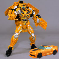 2015 Autobots Bumblebee Transform Robot Movie 4 27cm Optimus Prime Model Bumblebee Action Figures Toys For Boys Gifts