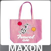 Hot sales lovely good quality oxford printing tote shopping bag Guangzhou