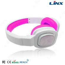 active style head sets audio head phones with customer logo