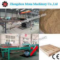 Wood pallet crusher/wood board crusher/wood recycling machine for sawdust