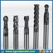 Alibaba China carbide cutting tools / 4 flutes square Carbide End Mill / alibaba express turkey
