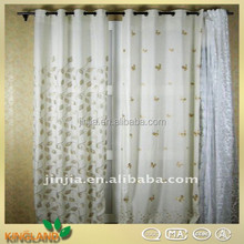 Hot sale linen embroidery whole sales china curtains designs window curtain fabric