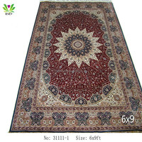 31111-1 260Lines top class 6x9ft Hand Knotted persian traditional area rugs