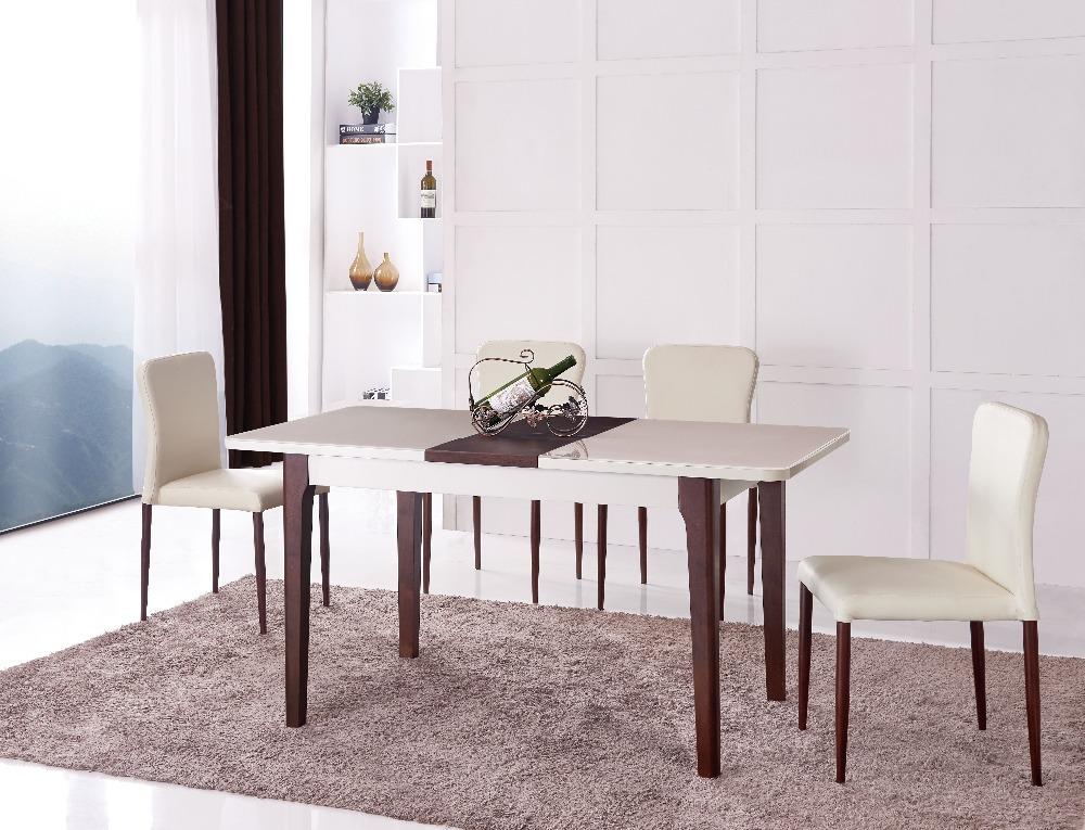 R tractable de table extensible bois table manger table - Table a manger retractable ...