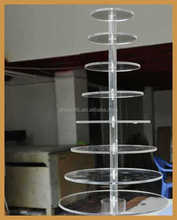 8 tier Acylic desk display Stand in Office / School / Hall