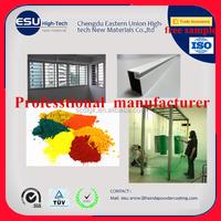 Alibaba Golden supplier Powder Coating Exterior Super durable polyester spray powder coating