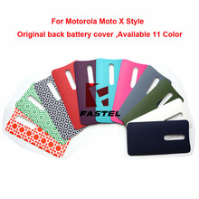 For Motorola Moto X Style Original New Mobile Phone back housing cover case/battery door cover With Glue 11 color