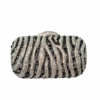 Crystal evening bags women small box clutches party bags wholesale