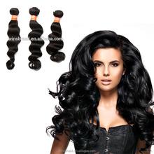 Aliexpress Hot sell 7A Peruvian 100% Brazilian Human Virgin Body Weave Hair Extension