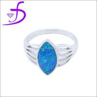 silver opal angel wholesale wing silver opal angel wing ring