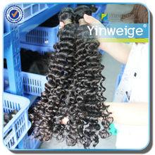 bohemian curl brazilian human hair wet and wavy weave