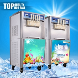 Factory directly selling fruit cooling system ice cream machines fruit