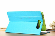 OEM Flexible Hook PU Leather Tablet case suitable for 7 to 8 inch Tablet PC(Sky blue )