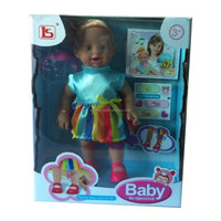 new vinyl battery operated injured baby doll toy can sing for promotion