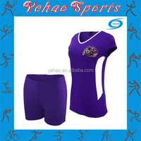 wholesale sublimated volleyball uniform for lady