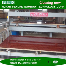 Feng He brand outdoor waterproof bamboo plywood for best quality bridge