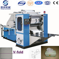 high speed v fold facial tissue making machine for paper production line