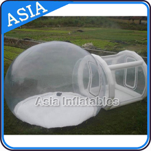 Custom made inflatable bubble tent for outdoor camping, commercial grade durable inflatable bubble tent for sale