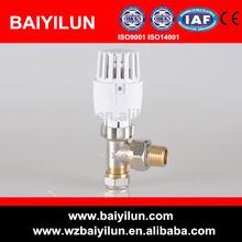 """1/2"""" de latón válvula termostática del radiador con conexión de pex-al-pex"""