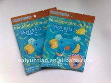 bath ball plastic bag/plastic bag for bath ball