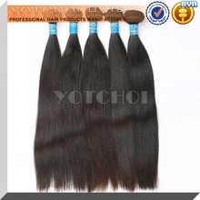 Qingdao yotchoi hair products alibaba gold supplier brazilian weave hair