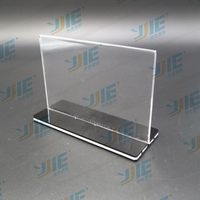 New style unique acrylic photo frame and menu holders