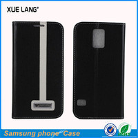 Hot !!! Newest mobile phone leather case for galaxy s5,For Samsung S5 case
