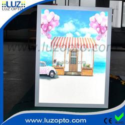 15mm slimline led lightbox display,led poster 50x70