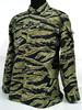 BDU field training uniform suits, CS war game uniform, tiger stripes camouflage military uniform