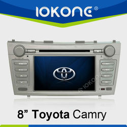 "8""In Dash 2 Din Steering Wheal Control Toyota Camry Car DVD Player DVD"