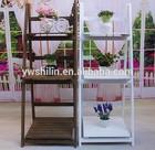 Novo design 100% handmake de dobradura de madeira stands flor de vaso