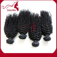 Carina Hair 2015 new Products Kinky Curl alibaba express 3psc/lot 100% unprocessed remy virgin Brazilian human hair wave