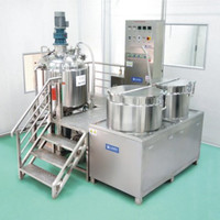 Top Quality CE ISO Vacuum Upper Bottom Cream Emulsifier Mixer