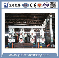 Factory price automatic complete sawdust pellet production line price built in Italy