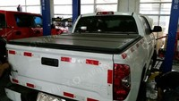 High Quality pick up bed cover for Nissan Navara King(Ext.)Cab, 6' Bed 2005-2014 hard truck tonneau cover