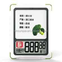 Charming waterproof electronic shelf label esl for Fresh fruit