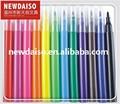 12 de color lavable felt tip marcador de color del fabricante de China