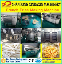 semi/full automatic frozen potato chips machine/frozen potato french fries/frozen potato machine 15908028607