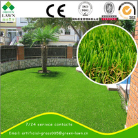 2015 Colorful ornaments artificial grass carpet for balcony