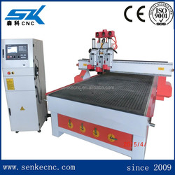 Pneumatic auto tool changer PVC,MDF board carve 3d cnc router/wood cutting machine