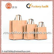 2015 custom craft paper shopping bag