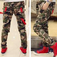 SPRING PAGEANT KOREAN DESIGN TROUSERS,CAMOUFLAGE PANTS FOR BOYS