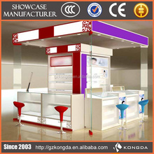 2015 Promotion cosmetics shelf pulls,cosmetic display showcase